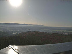 WebCam Bild vom Eichbergturm Richtung Freiburg