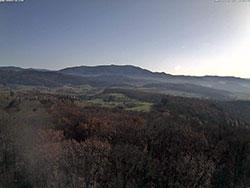 WebCam Bild vom Eichbergturm Richtung Kandel